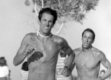 Wally & Wayne Buckingham at David Pain's Birthday Biathlon